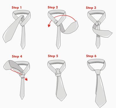 Этот вид узла для галстука