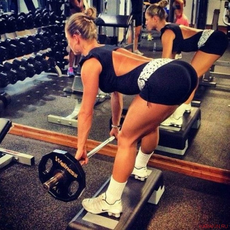 Как сделать красивое в спортзале